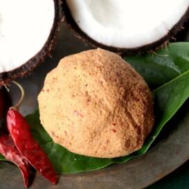 Thengai Thogayal Recipe   Coconut Thuvaiyal