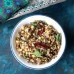 Pachai Payaru Sundal | Green Gram Sundal | Sprouted Moong Sundal