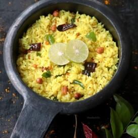 Lemon Rice / Elumichai Sadam / Easy South Indian Variety Rice