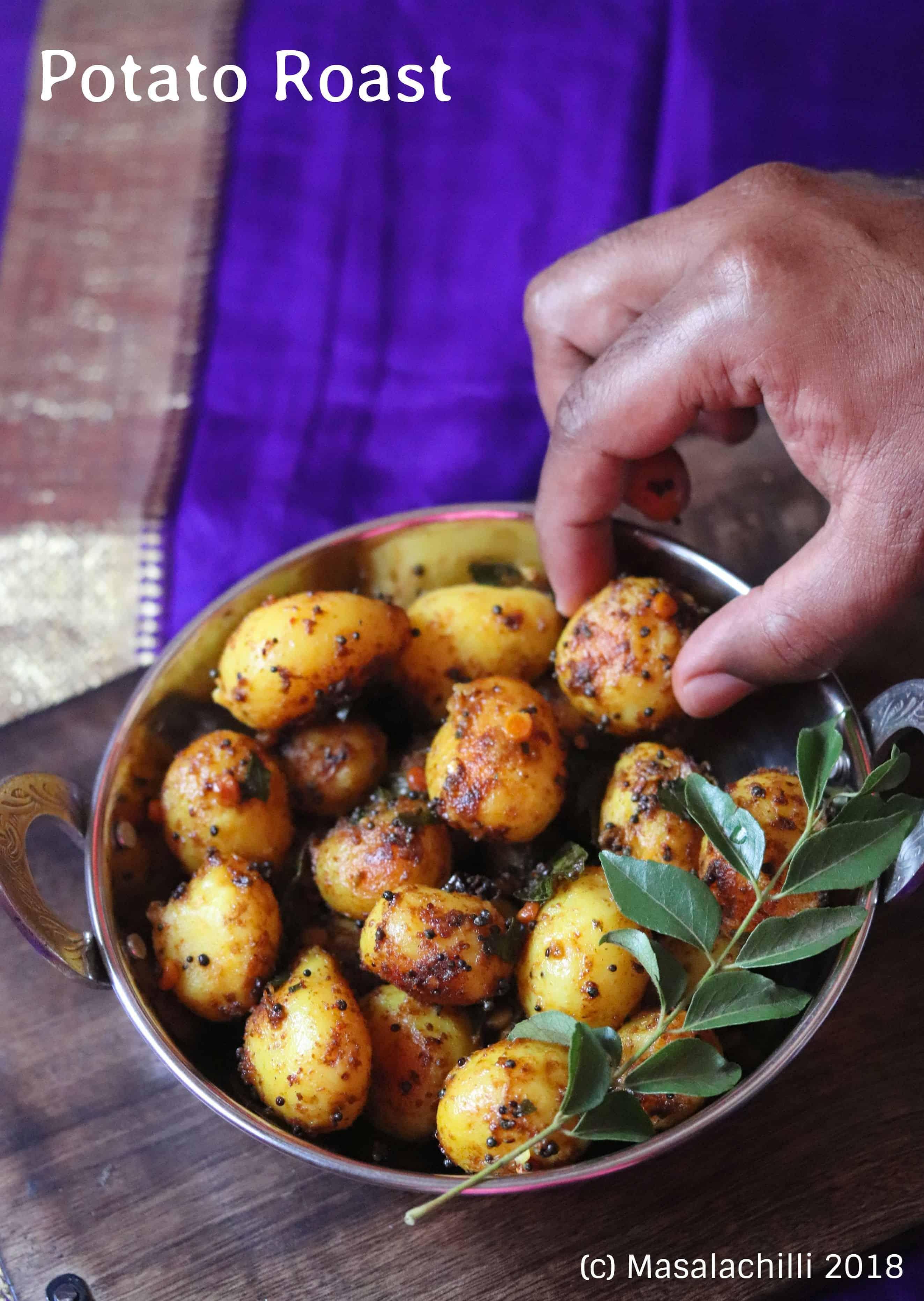 Potato Roast / Aloo Roast