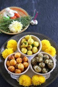 Ammini Kozhukattai (3 varieties of Ammini Kozhukattai for Ganesh Chaturthi)