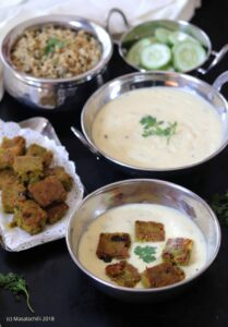 Indrahar ki Kadhi – A Gluten Free Main Course Recipe from Madhya Pradesh