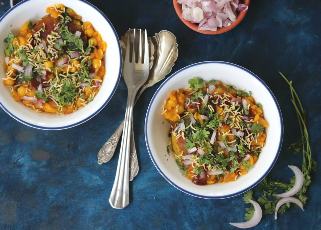 How to make Ragda Pattice Chaat at home