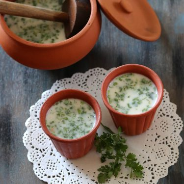 Mattha (Maharashtrian Spiced Buttermilk)