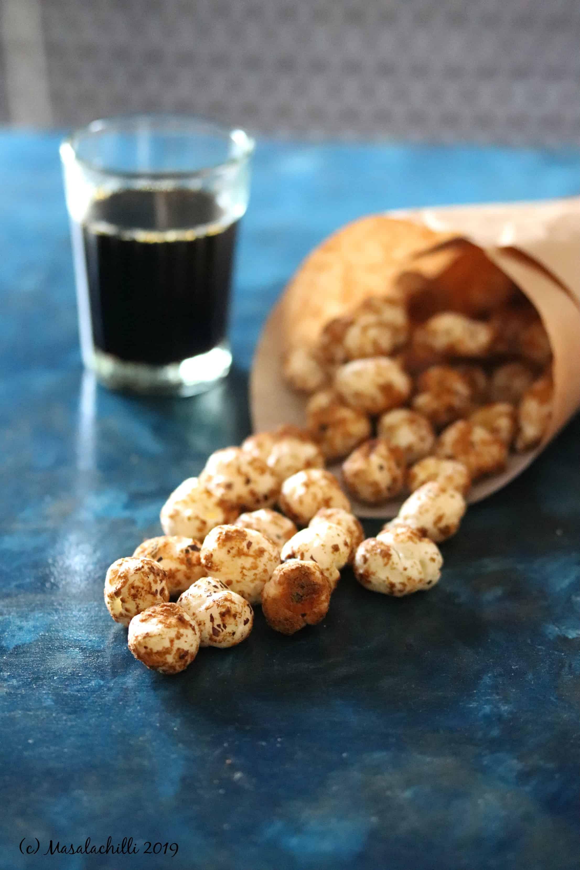 Gur Makhana recipe