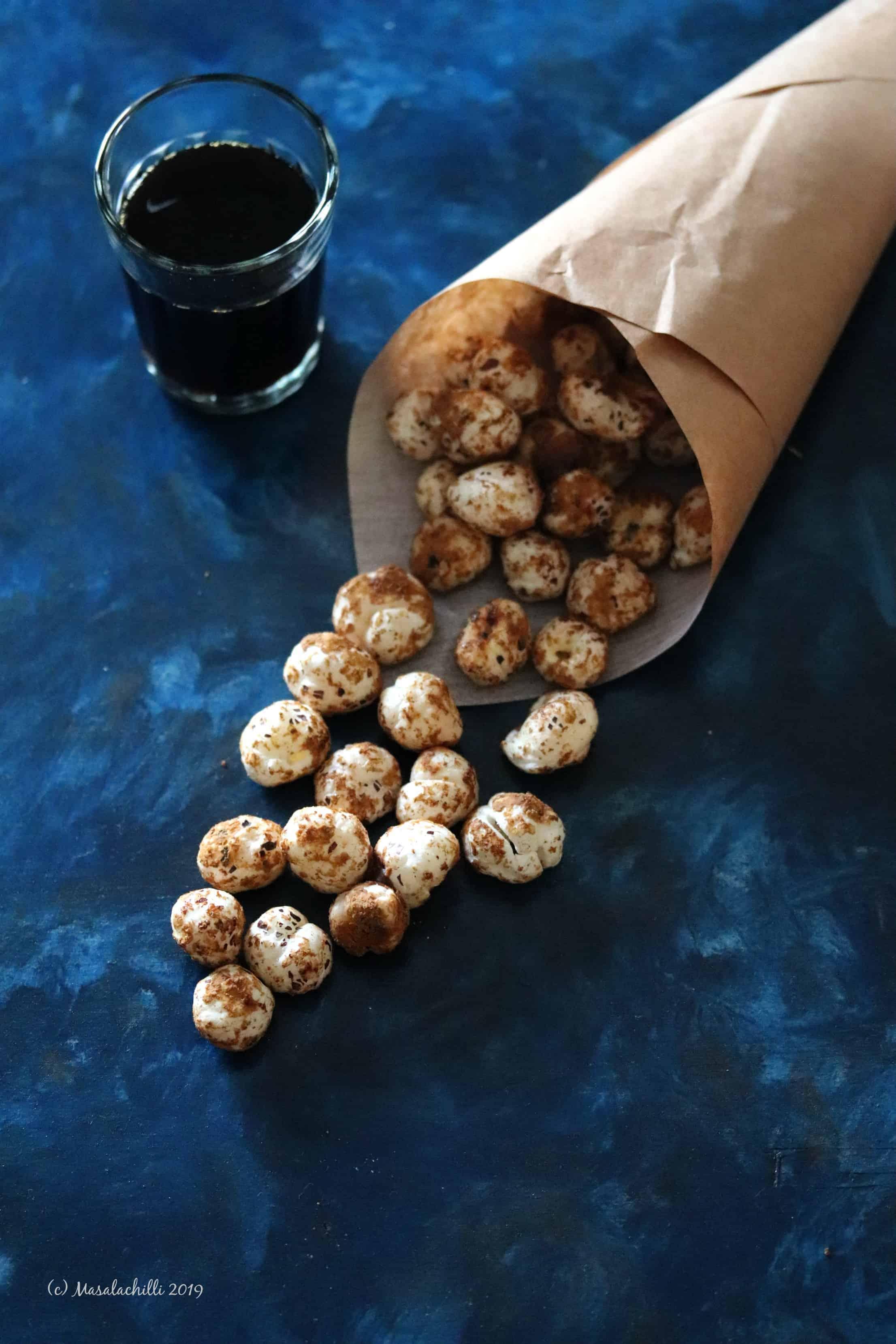 Gur Makhana | Palm Jaggery Coated Fox Nuts