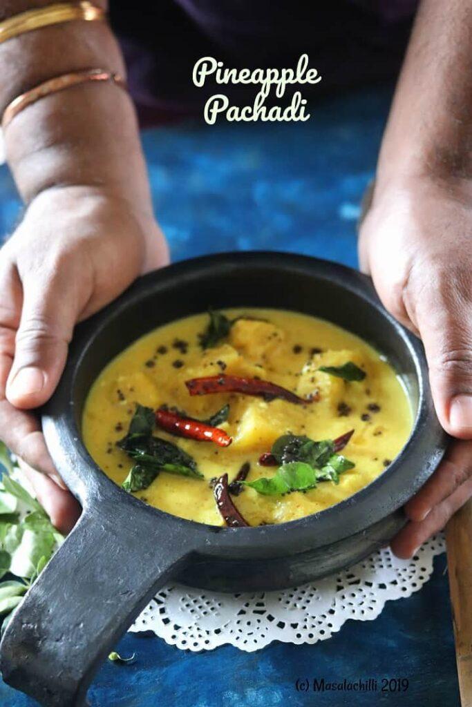 Pineapple Pachadi Recipe