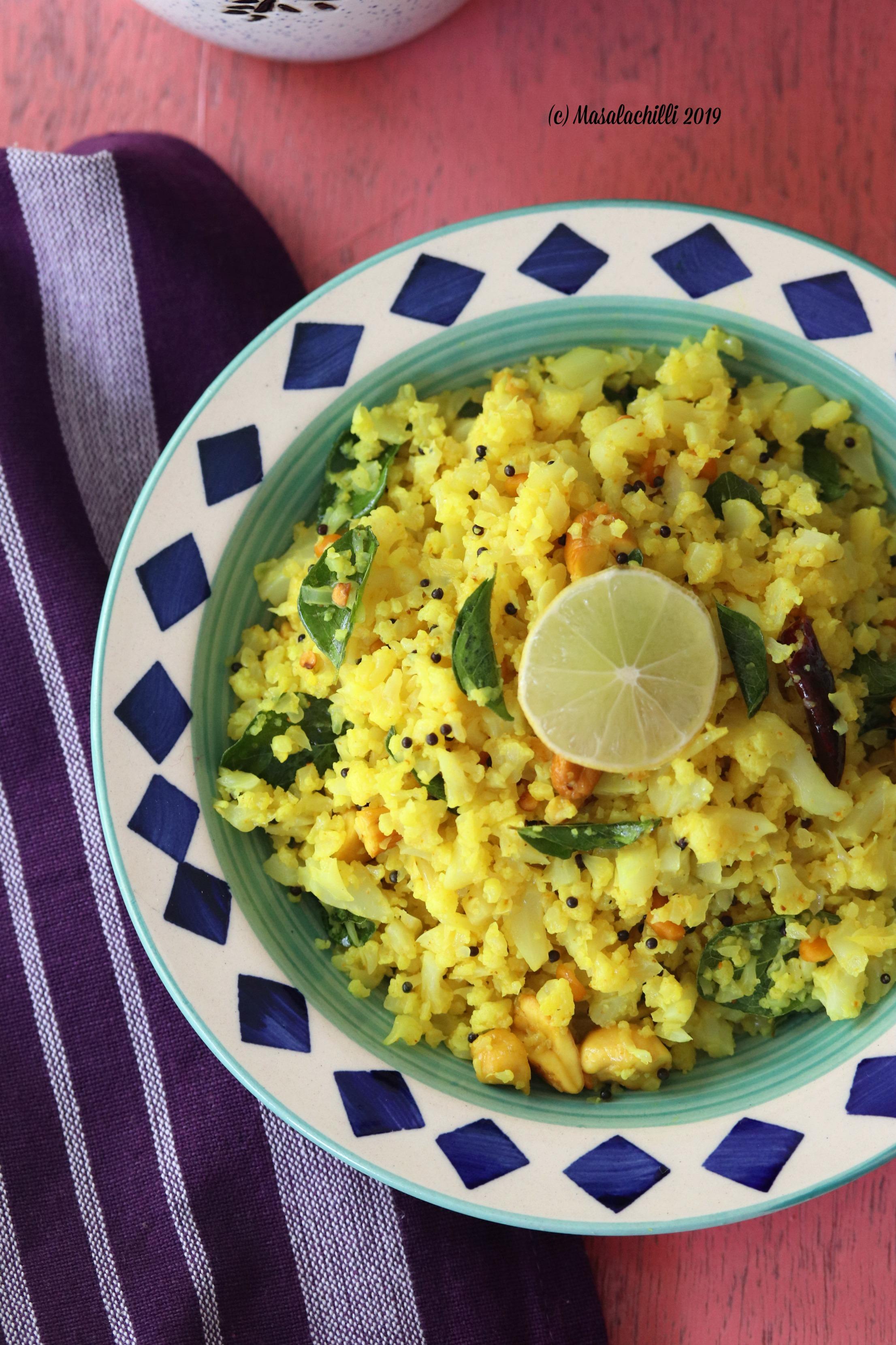Pegan Cauliflower Rice Recipe