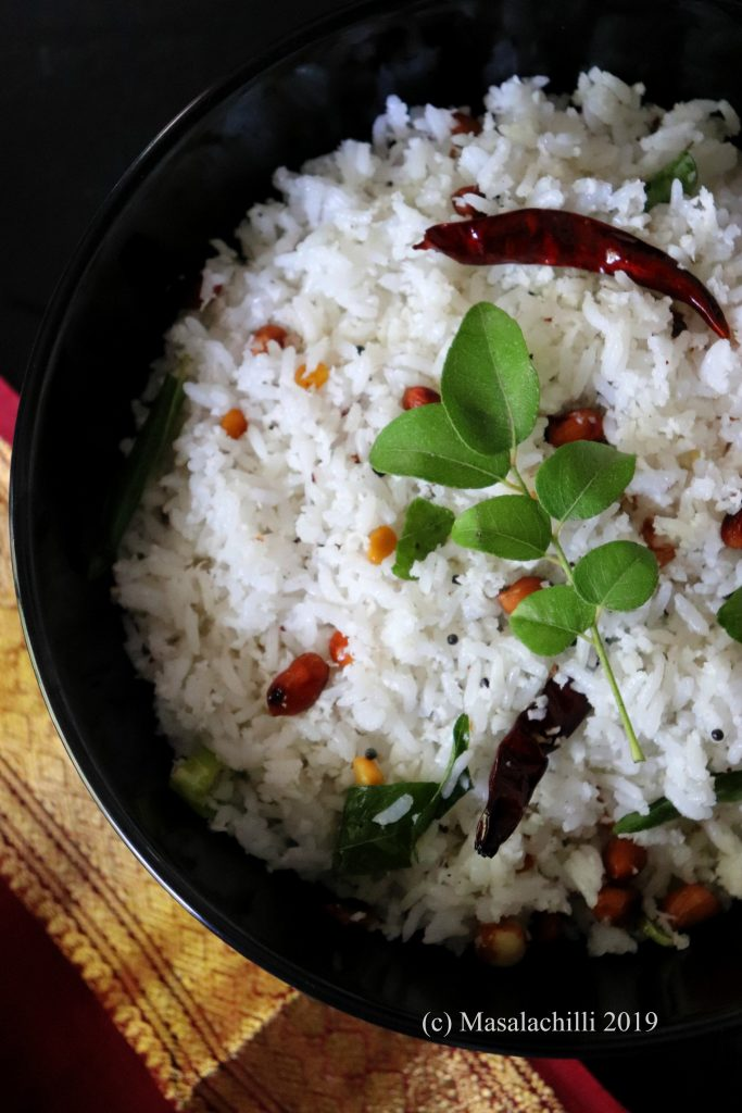 How to Make South Indian Coconut Rice at home