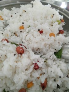 Coconut Rice is ready to serve