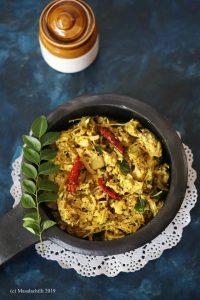 Idichakka Thoran Recipe (Kerala Tender Jackfruit Stir Fry)