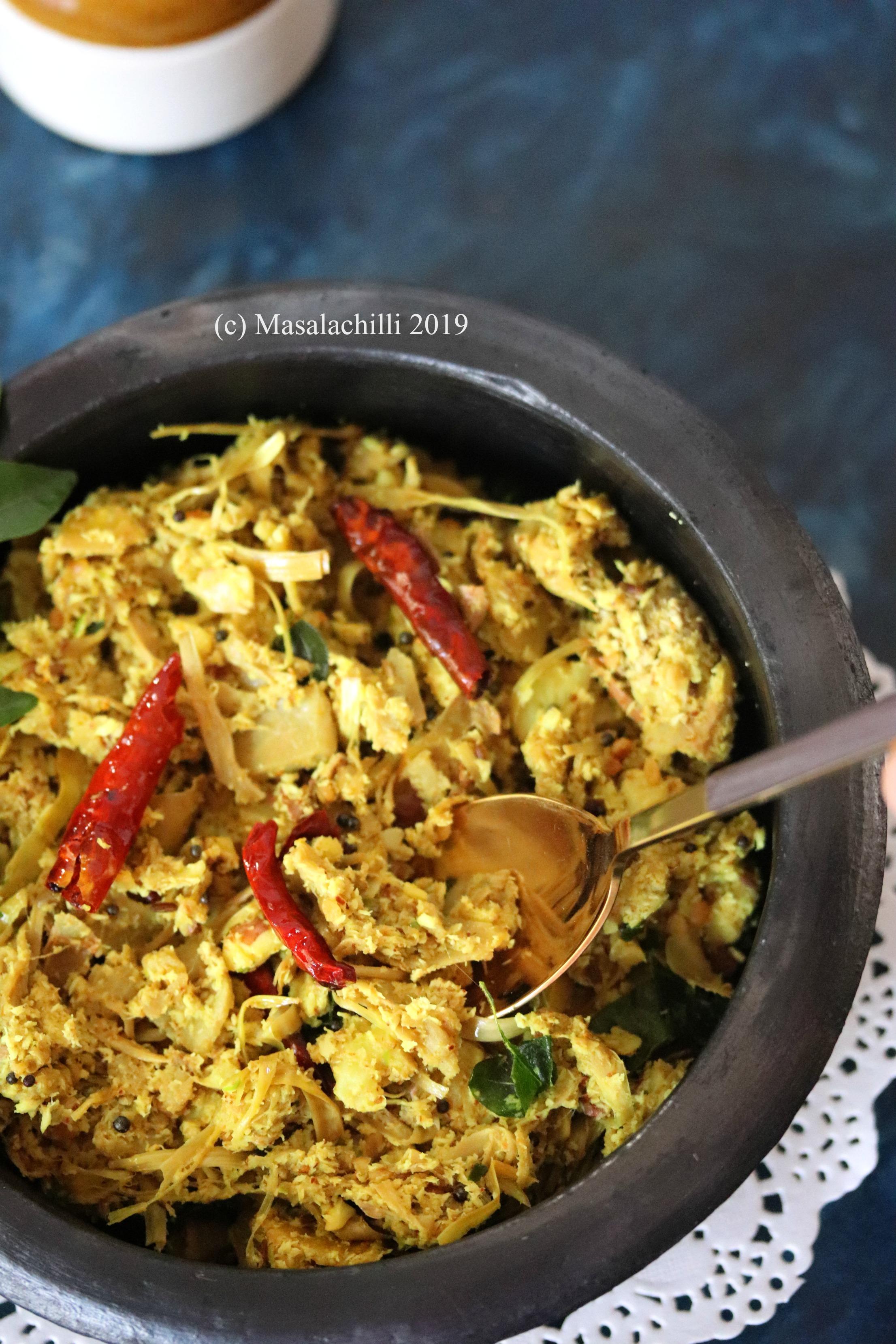 Tender Jackfruit Vegetable from Kerala Cuisine