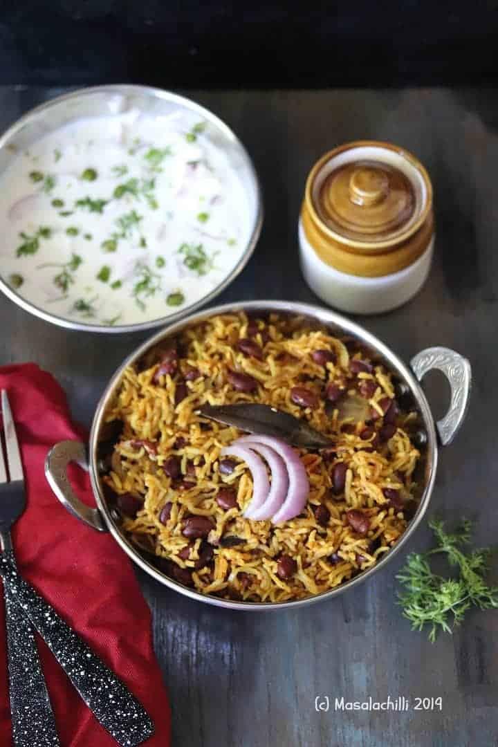 Rajma Rice / Rajma Pulao