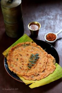 Adai Dosa / South Indian Mixed Lentils Dosa
