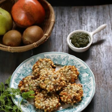 Sabudana Vada (Air Fryer Recipe)