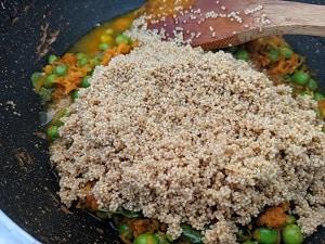 Foxtail Millet or Thinai upma recipe