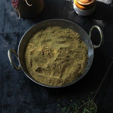 Murungai Keerai Podi (Moringa Leaves Chutney Powder)