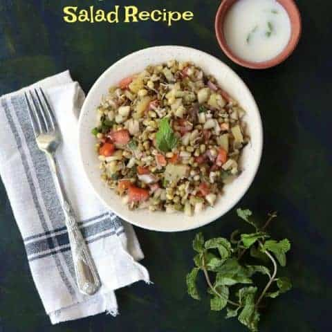 Sprouts Salad Recipe Indian