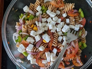 Paneer or Cottage cheese for salad