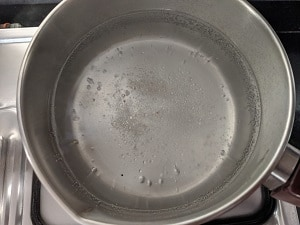 Water for cooking Pasta