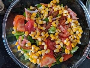 Vegetables for Pasta salad