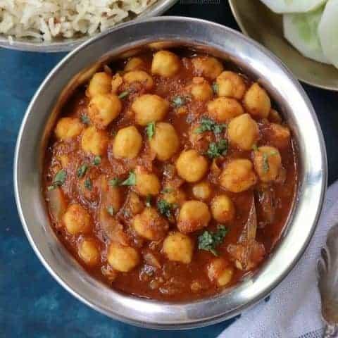 North Indian Chana Masala Recipe