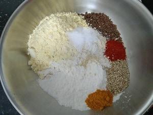 Ingredients for Sattu Pancakes