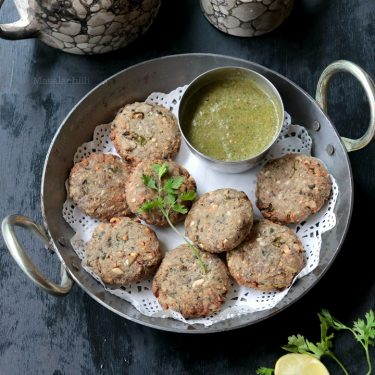 Raw Banana Cutlets in Air Fryer (Vrat Ke Cutlet)