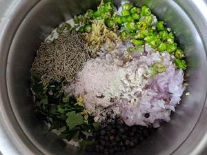 Ingredients for Ragi Rava Dosa