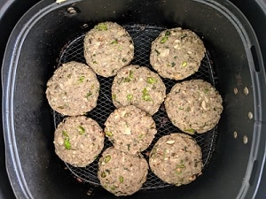 Bake the cutlets in air fryer
