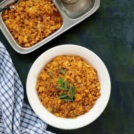 Idli Upma - South Indian Tiffin Recipe