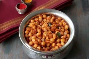 Pattani Sundal Recipe with Sundal Masala