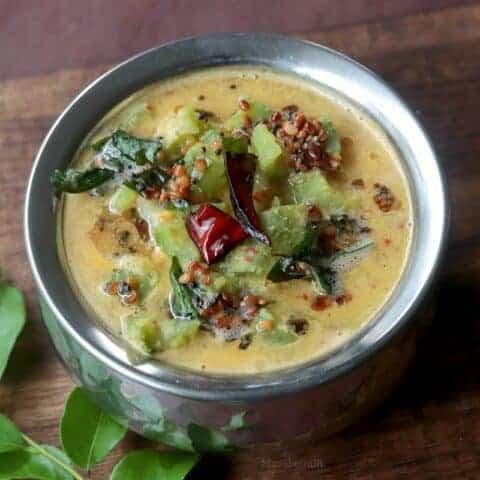 Peerkangai Kootu (Ridge Gourd Lentil Curry)