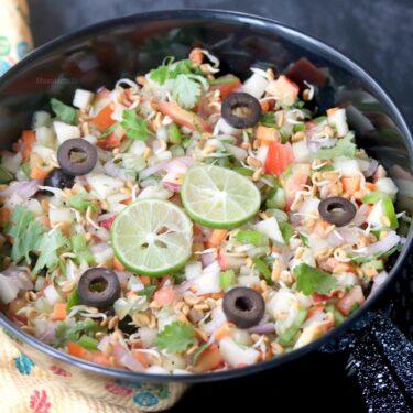 Methi Sprouts Salad Recipe | No Oil Fenugreek Sprouts Salad