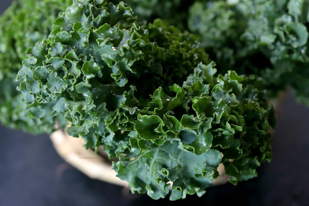 Curly kale or Curled Kale
