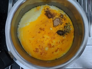 Spices for turmeric milk