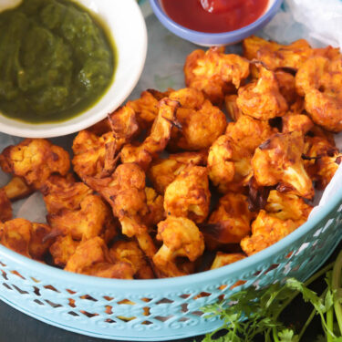 Air Fryer Cauliflower Tikka – Easy Cauliflower Snack Recipe